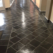 Commercial floor cleaning and finishing.